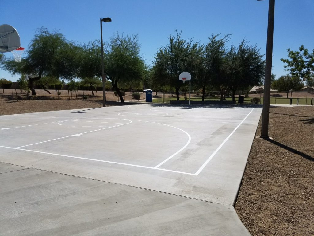 Basketball Court Striping