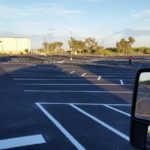 Parking Lot Striping in Mesa AZ