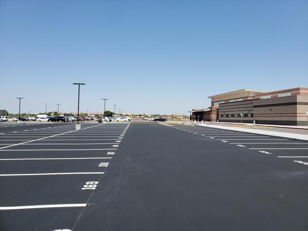Parking Lot Striping in Chandler